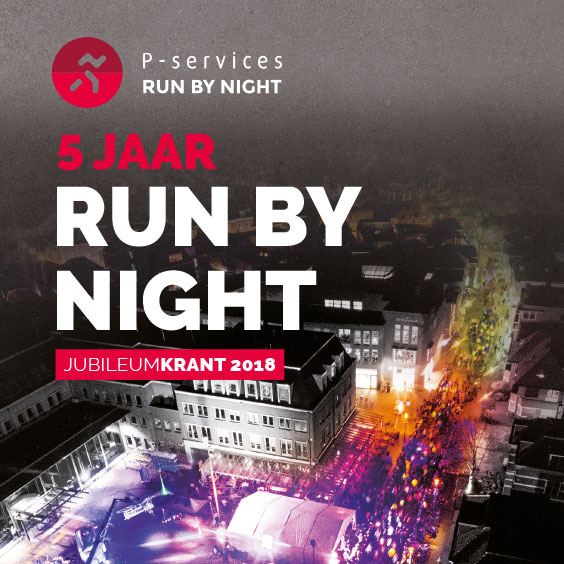 5 jaar Run by Night